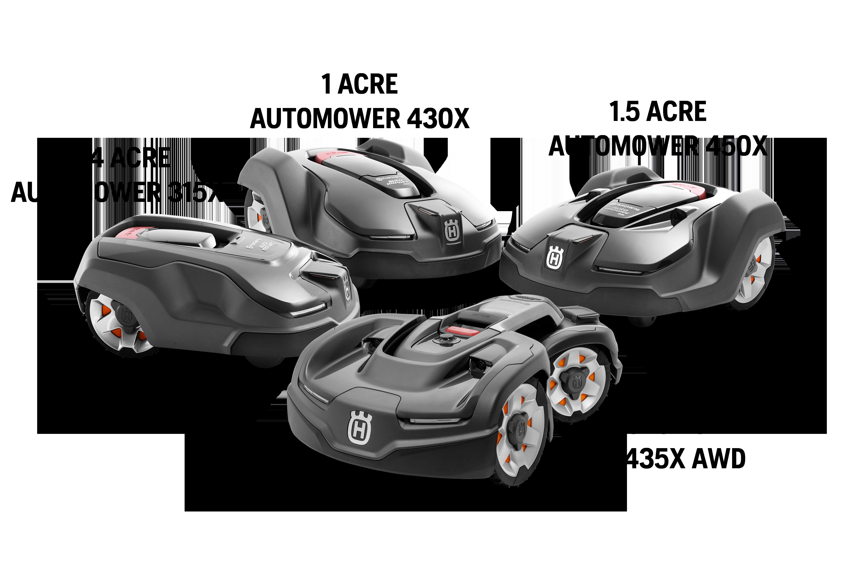 Husqvarna Automowers 315X, 430X, 450X, 435X AWD